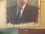 Портрет М. Горького.  46,5х37см. Высокохудожественный., фото №6