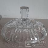 Шкатулка(ваза) хрустальная с крышкой.Чехословакия, фото №6
