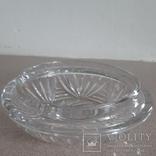 Шкатулка(ваза) хрустальная с крышкой.Чехословакия, фото №8