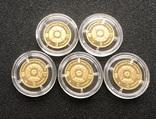 2 гривні 2007 рік. Риби. Золото 1,24 грам - 5 монет., фото №5