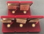 2 гривні 2007 рік. Бабак (байбак). Золото 1,24 грам - 5 монет., фото №2