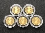 2 гривні 2007 рік. Бабак (байбак). Золото 1,24 грам - 5 монет., фото №5