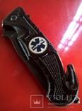 """Car Cnife Rescue.""""Mil-Tec""""Germani.Нож спасатель-медик.Ніж рятувальник., фото №5"""