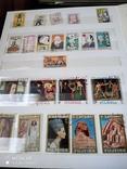 Большой набор марок +бонус кляссер, фото №2