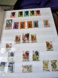 Большой набор марок +бонус кляссер, фото №7