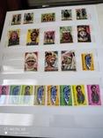Большой набор марок +бонус кляссер, фото №8