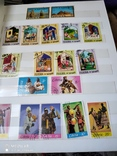 Большой набор марок +бонус кляссер, фото №13