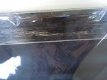 Картина Цветы на чёрном фоне 78*58 см фото 3