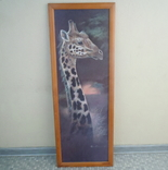 Картина Жираф 94,7*34,7см