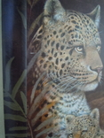 Картина Леопарды 98*38 см фото 6