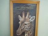 Картина Жирафы 97,5*36,5 см фото 2