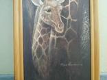 Картина Жирафы 97,5*36,5 см фото 4