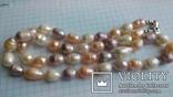Намисто з перлин кольорових, фото №6