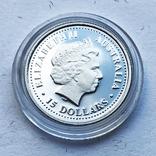 Набор монет цветы Австралии 5 шт, платина. 1/10 oz, фото №9