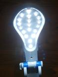 Настольная лампа Светильник Yajia YJ-5823,19LED со встроенный аккумулятор 800 mAh, фото №6