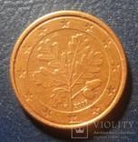 Германия 1 евро цент 2009 (F), фото №3