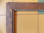 Старинная рама. Дореволюционная. Вн. размер 48х38 см., фото №9