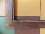 Старинная рама. Дореволюционная. Вн. размер 48х38 см., фото №11