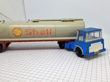 CRESCENT TOY. Made in Gt Britain. TANKER SHELL (сс), фото №2
