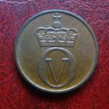 2  эре  1970  Норвегия     ($7.2.11)~, фото №3