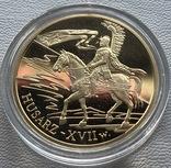 200 злотых 2009 год Польша золото 15,50 грамм 900', фото №2