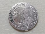Коронный Орт 1623 год. Быгдощ. PRVM Узоры на реверсе., фото №3