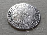 Коронный Орт 1623 год. Быгдощ. PRVM Узоры на реверсе., фото №4