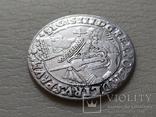Коронный Орт 1623 год. Быгдощ. PRVM Узоры на реверсе., фото №6