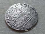 Коронный Орт 1622 год. Быгдощ. Над короной 2 точки и Х., фото №9