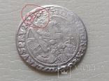 Коронный Орт 1622 год. Быгдощ. Над короной 2 точки и Х., фото №2