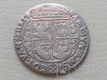 Коронный Орт 1622 год. Быгдощ. Над короной 2 точки и Х., фото №11