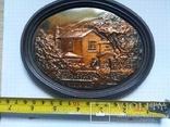 Настенный медальон Домик Чехова, фото №2