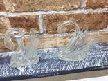 Стекляные Лебеди - 4 шт + Роза, фото №8