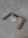 Старинные дверные ручки 9 METALOTECHNIKA LWOW - арт-деко, фото №4