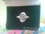 Перстень СССР срібний р.18, фото №7