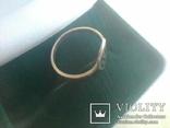 Перстень СССР срібний р.18, фото №8