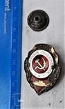 Знак Отличный подводник, СССР, копия, фото №4