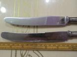 2 ножа с серебряными ручками, фото №4