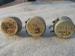 Резистор переменный ПП3-11 (3 шт), фото №3