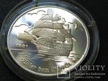 Того корабль парусник 2001 серебро, фото №2