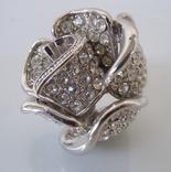 Шикарное кольцо Роза в стиле Dior