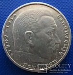 Німеччина 2 марки 1939 рік (А)