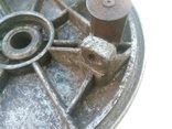 Передний тормозной барабан (опорник) с колодками Днепр МТ Урал (2), фото №4