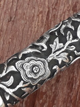Красивая, солидная трость, рукоять серебро, Китай, L = 90 cm, фото №12