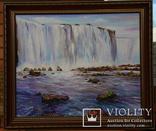 Водопад. Картина в раме., фото №2