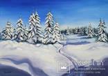 В зимнем лесу. 50Х70см., фото №2