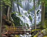 Водопад. 80Х100 см., фото №2