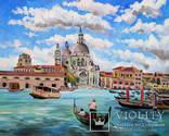 Венеция. 80Х100., фото №2