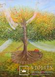 Волшебное дерево. 80х60см, фото №2