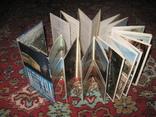 Москва, набор открыток, книжка-гармошка, 60-е года, СССР, фото №3